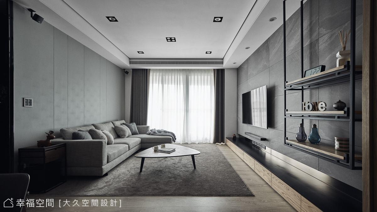 異材質平衡冷暖質調 詮釋休閒飯店美學
