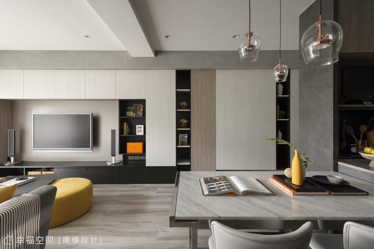 新柔美現代宅 構築寫意生活