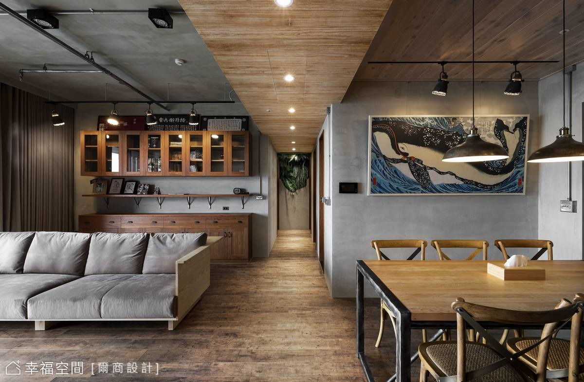 簡約日式水泥宅 細品質樸生活感
