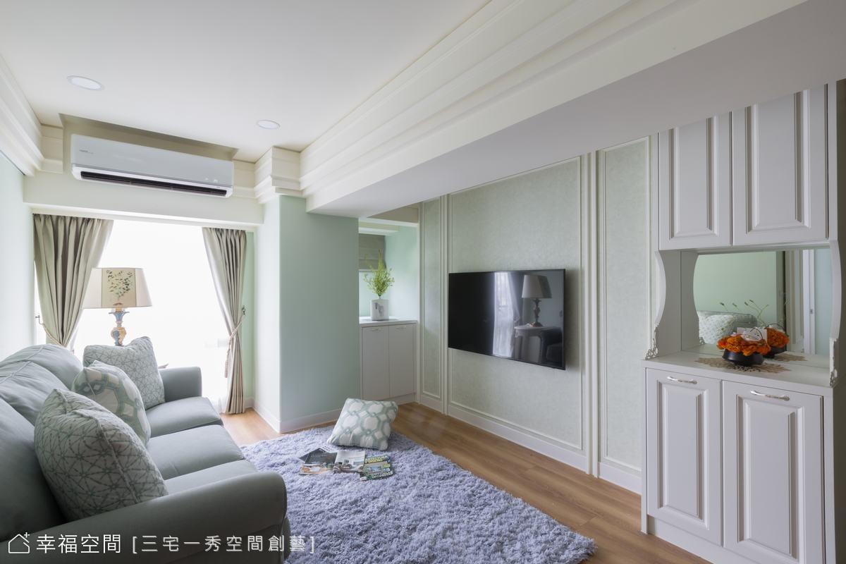 老公寓變美宅! 巧思設計改「樑」變優點
