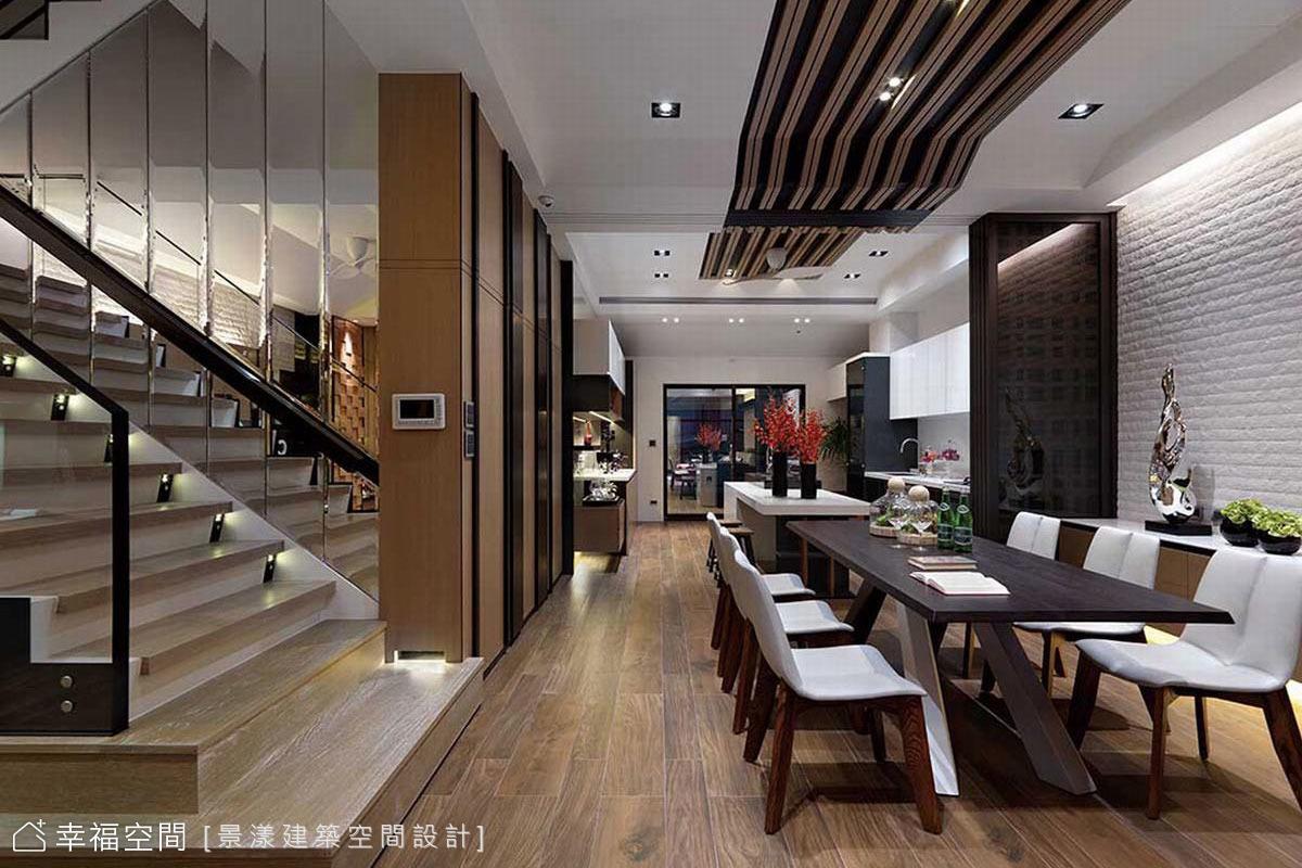 洗鍊現代日式,三代同宅的幸福別墅