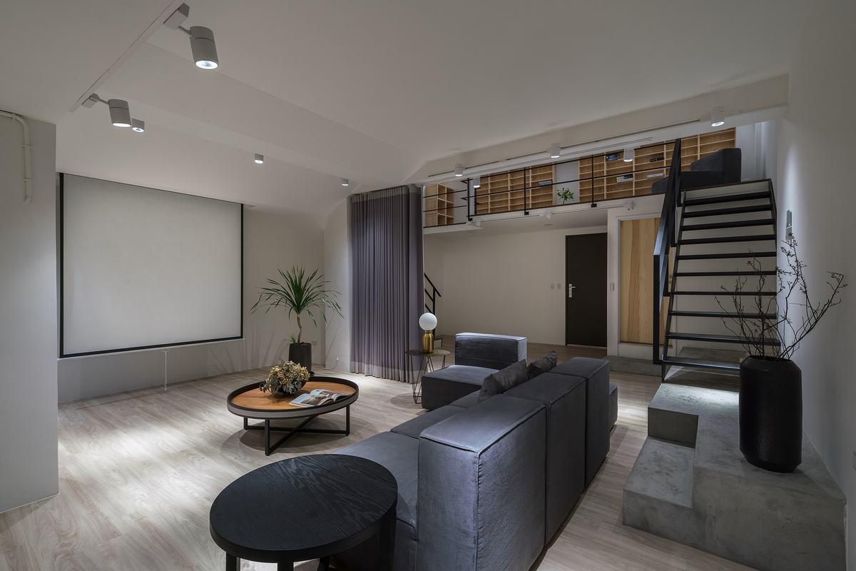 老屋變身純淨空間  打造出生活藝趣休閒宅